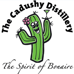 Image result for Cadushy Distillery bonaire logo