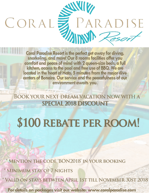 coral paradise special