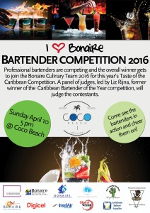 Bartender competition Bonaire