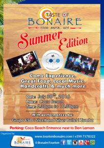 Taste of Bonaire July2016