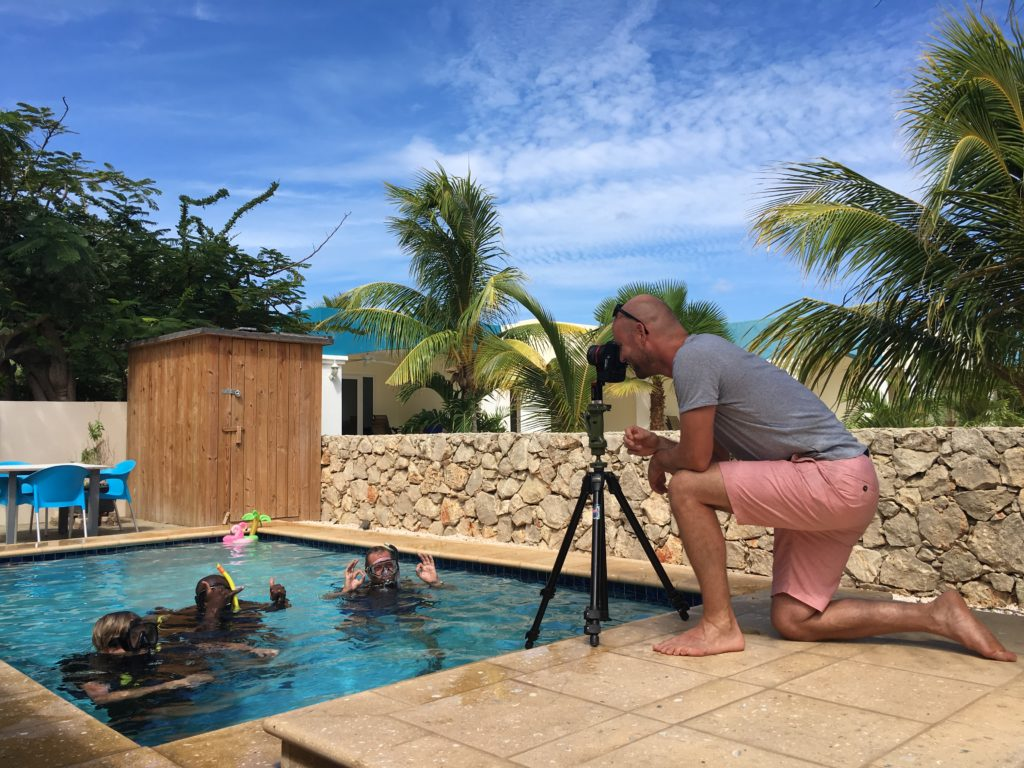 making of virtual tour vip diving