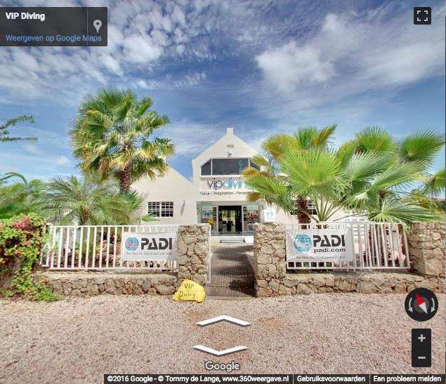virtual tour VIP diving