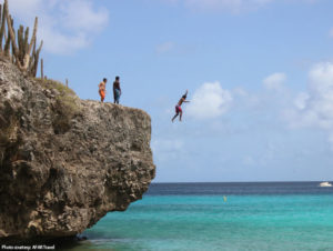 national park cliff jumping