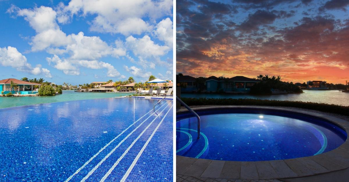 web size Courtyard Bonaire pool & jacuzzi – I Love Bonaire