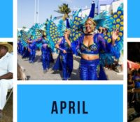 events on Bonaire in april