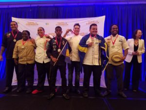 Bonaire Silver Medal Junior Chef of the Year 2016 - Max Maartense