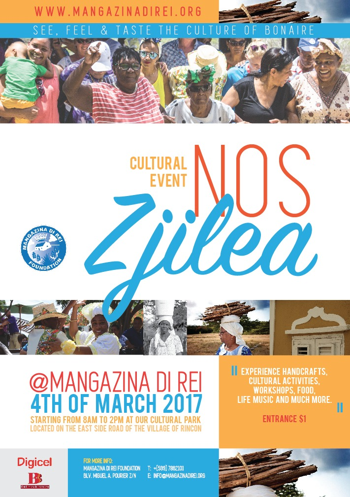 Cultural Event Nos Zjilea 4 March 2017 Bonaire in march