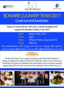 The Bonaire Culinary Team of 2017