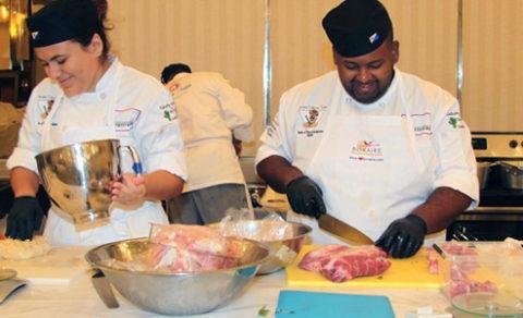 Bonaire culinary team 2017