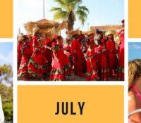 bonaire in july
