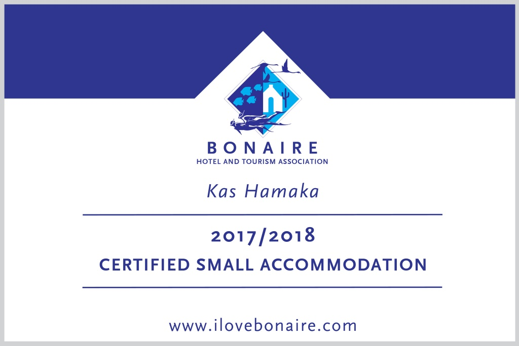 BONHATA certified small accommodation