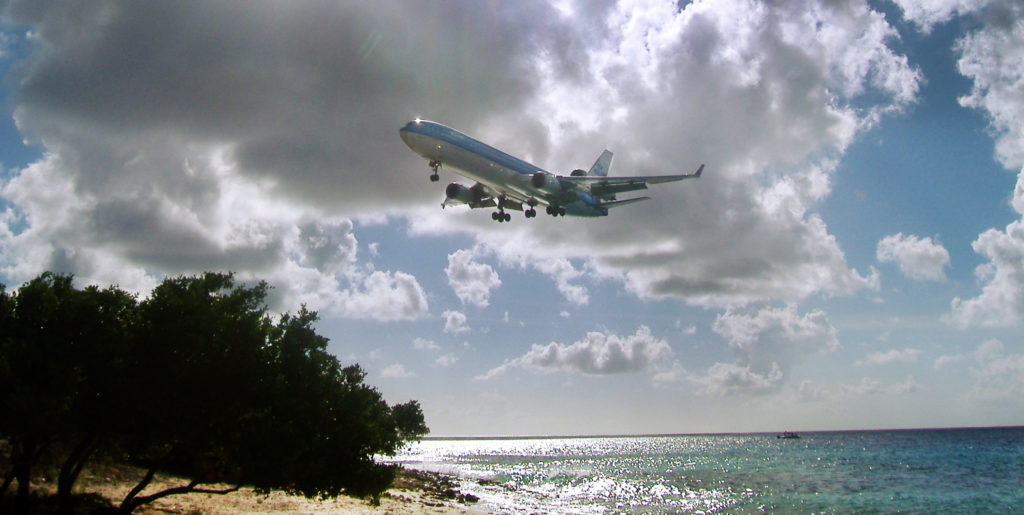klm direct flights to bonaire