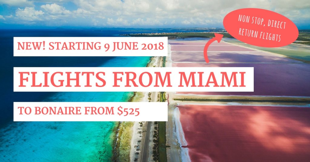 flights from miami to bonaire